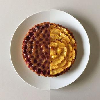 ハーフ・ぶどう&パイナップル
